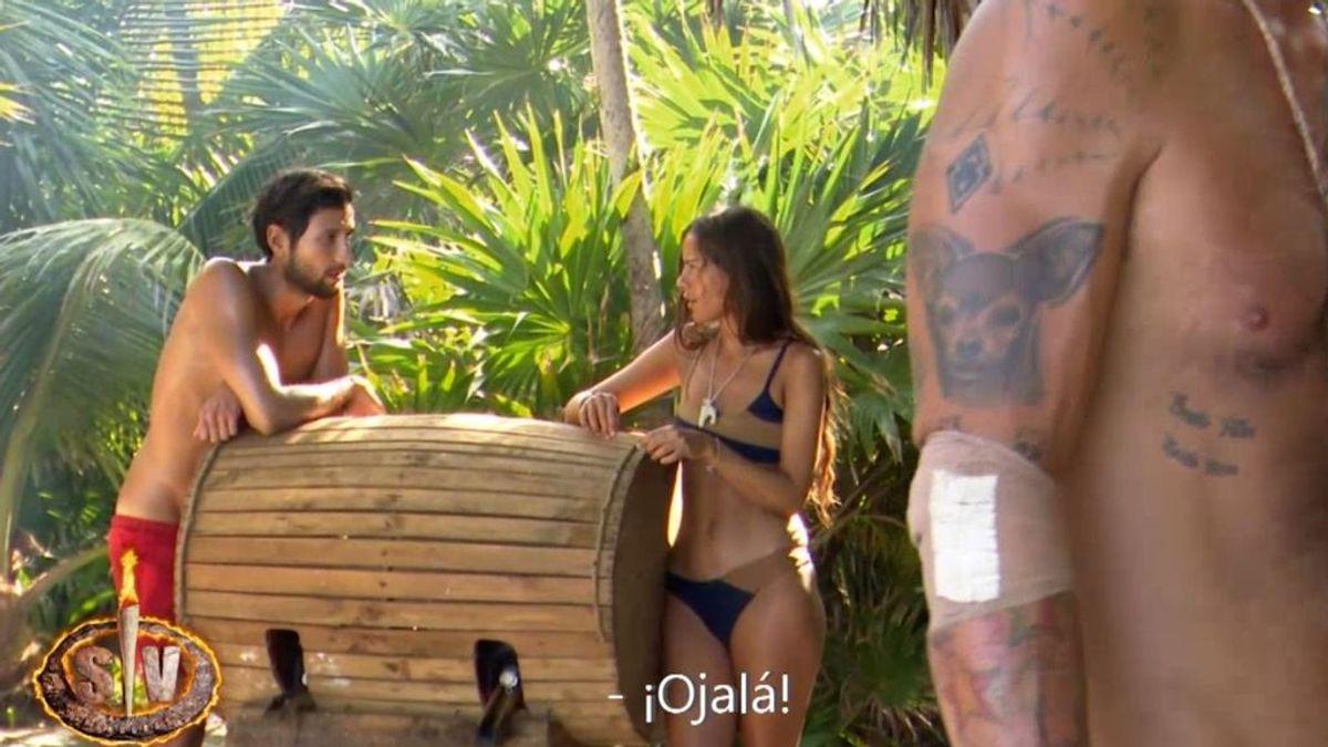 La 'rajada' de Gianmarco y Melyssa sobre Tom y Sandra cuando ambos creen que no les están grabando