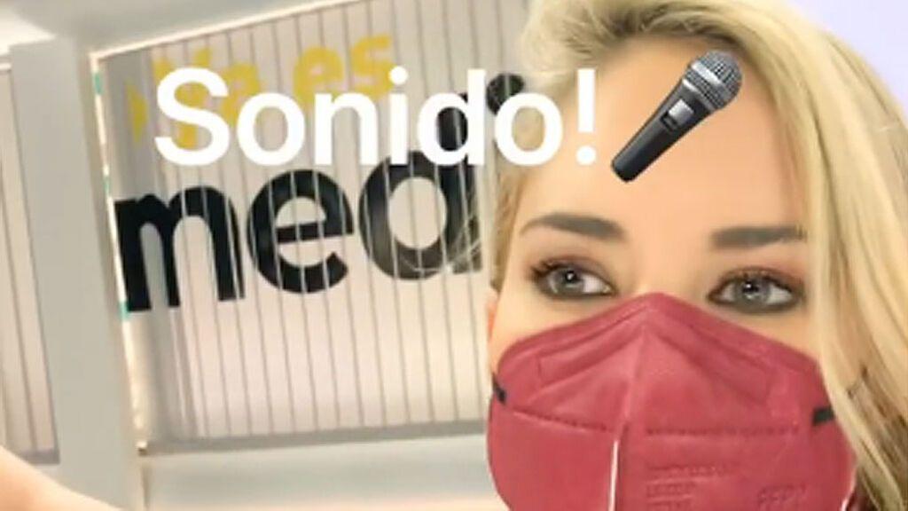 """Así es un día en 'Ya es mediodía Fresh' by Alba Carrillo: """"Me encanta venir a trabajar"""""""
