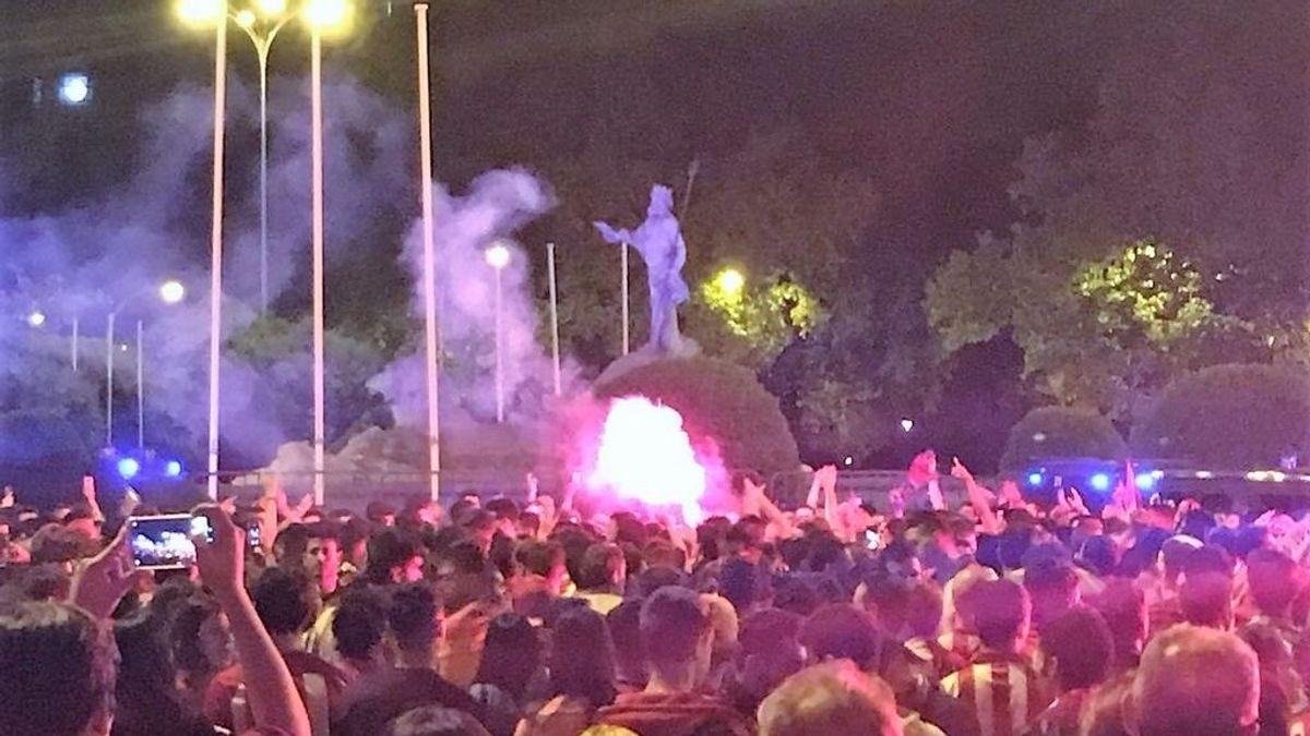 Neptuno estará acordonada por si Atlético de Madrid gana la Liga