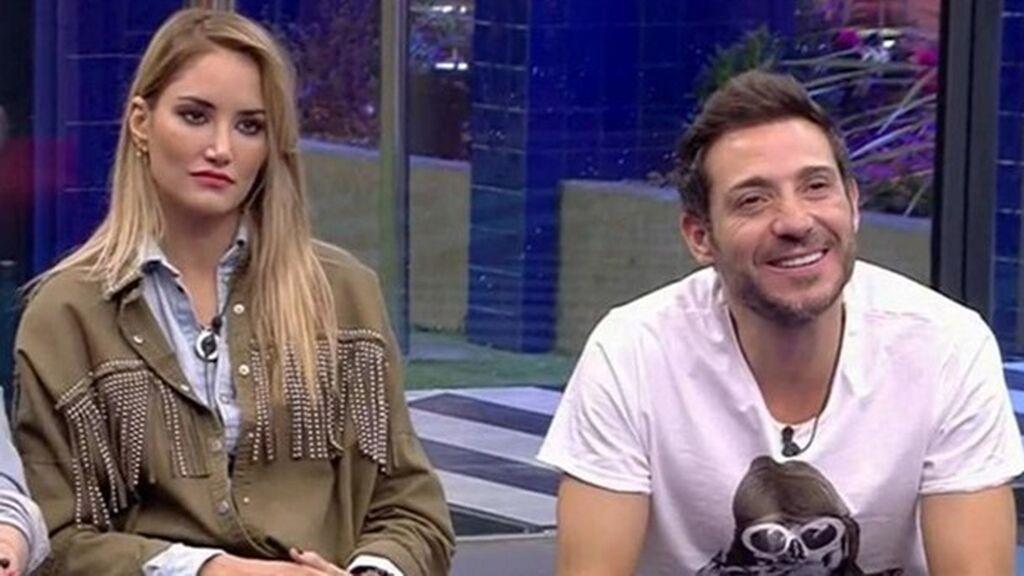Alba Carrillo con Antonio David en 'GH VIP'