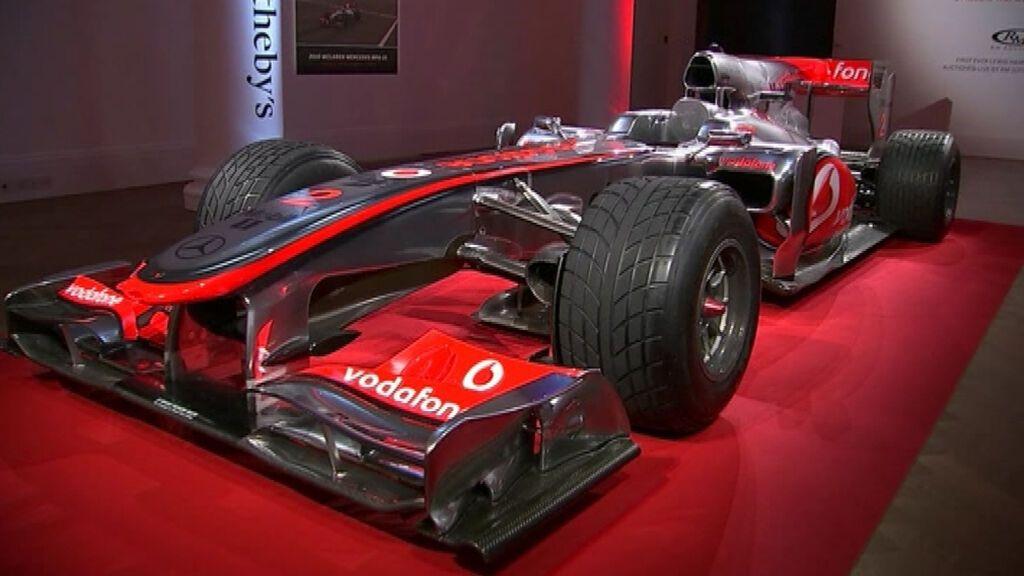 Subastan un McLaren de Lewis Hamilton de Fórmula 1 con un precio de salida de 4 millones de euros