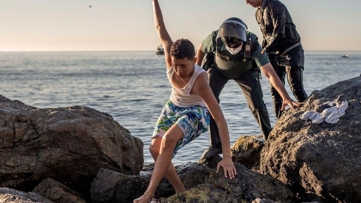 """En directo: Belarra, sobre los menores en Ceuta: """"Hay niños de 7 y 8 años que quieren volver a Marruecos"""""""