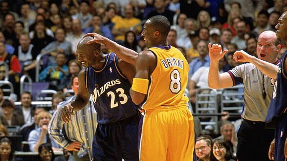"""Sale a la luz la última conversación entre Michael Jordan y Kobe Bryant: """"Espero que nos pongamos al día pronto"""""""
