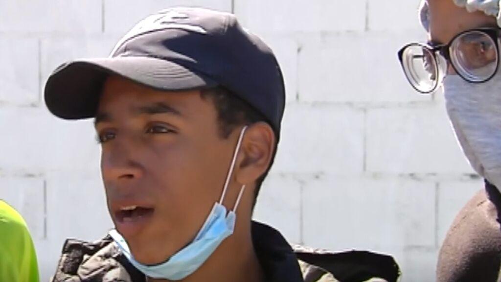Los testimonios de los menores en Ceuta
