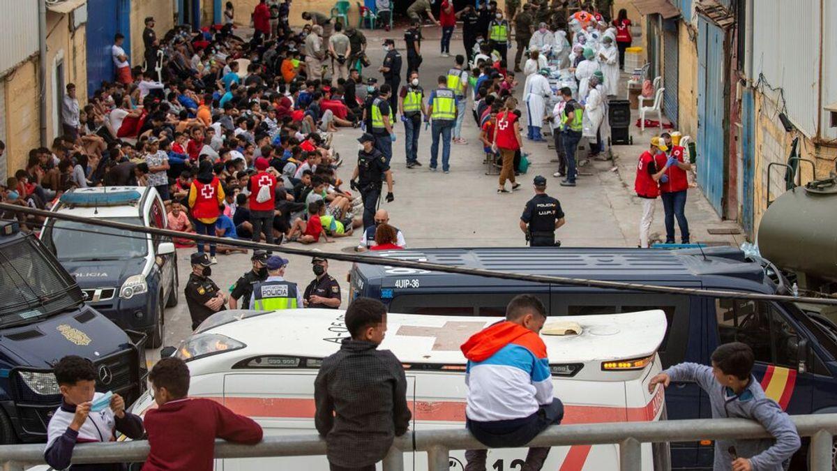 España está pendiente de reubicar a los más de 1.500 menores que entraron por Ceuta