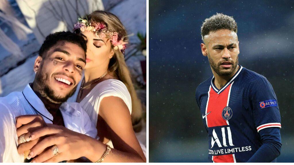 Neymar, de luto tras la muerte de un amigo que cayó de un balcón escapando de su mujer tras una infidelidad
