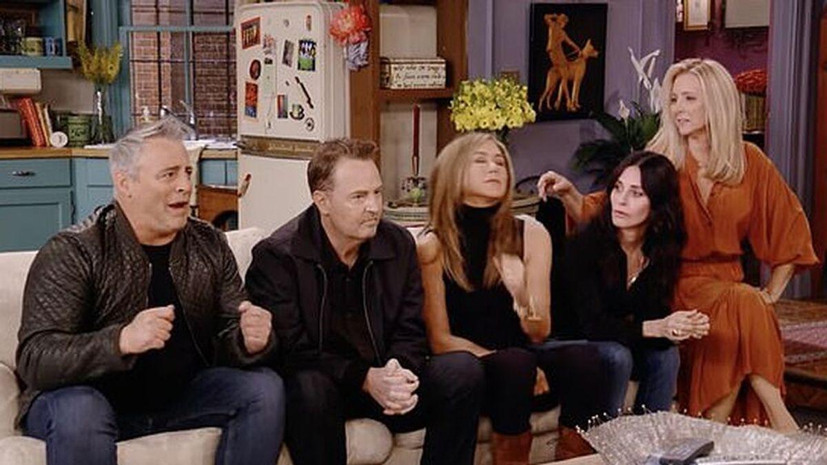 Las primeras imágenes de la reunión de 'Friends' vuelve locos a los fans