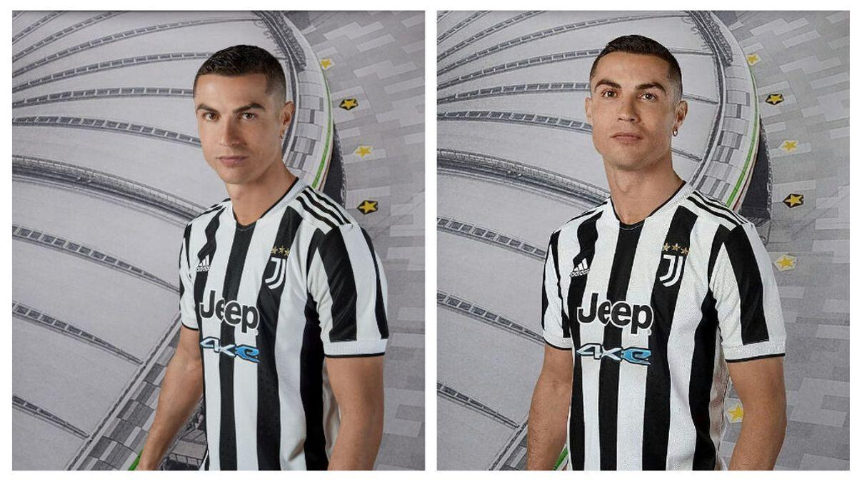 Cristiano Ronaldo posa con la nueva camiseta de la Juventus: el portugués vuelve a sembrar la duda
