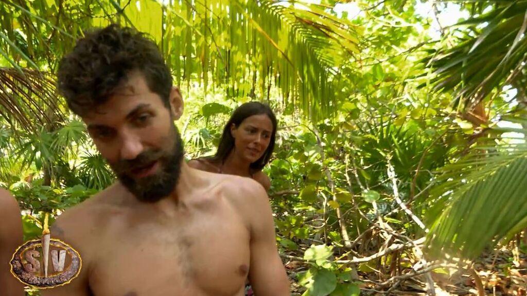 El episodio de terror de Melyssa al encontrar una serpiente en la isla