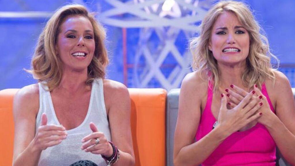 Rocío Carrasco y Alba Carrillo, en 'Hable con ellas'