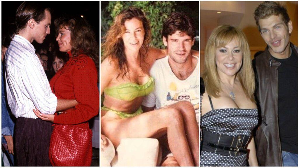Estas han sido las parejas más conocidas de Ana Obregón: de Miguel Bosé a Derek, pasando por el amor de su vida, Fernando Martín.