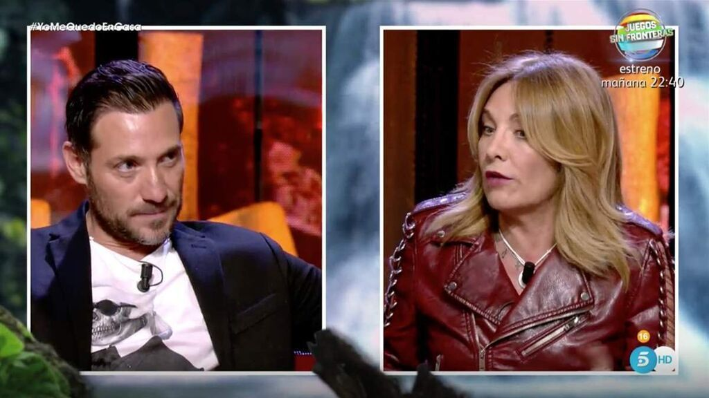 Belén Rodríguez se enfrenta a Antonio David en 'Deluxe'