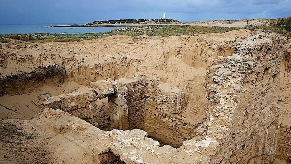 Los arqueólogos concluyen que los restos sacados a la luz en Barbate pertenecen a unas termas romanas