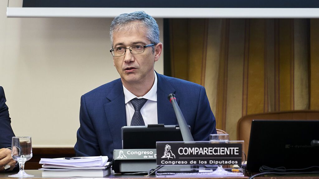 Pablo Hernández de Cos comparece en la Comisión de Asuntos Económicos y Transformación Digital