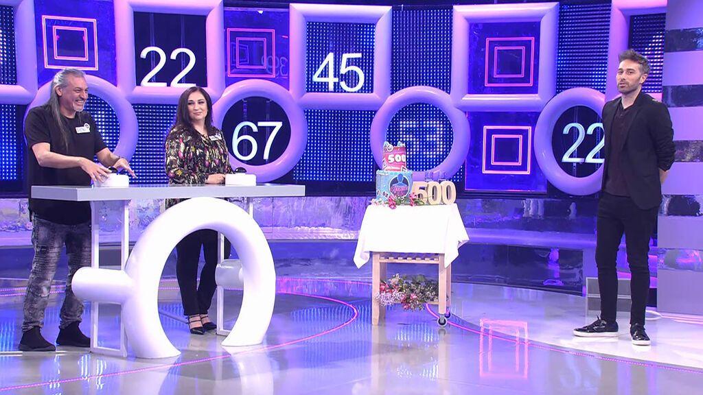 Especial 500: Ángeles y Dioni El concurso del año Temporada 3 Programa 495