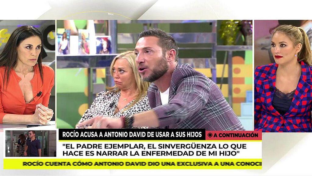 """Alba Carrillo estalla contra Antonio David: """"No puede ser un buen padre una persona que no paga la pensión de alimentos"""""""