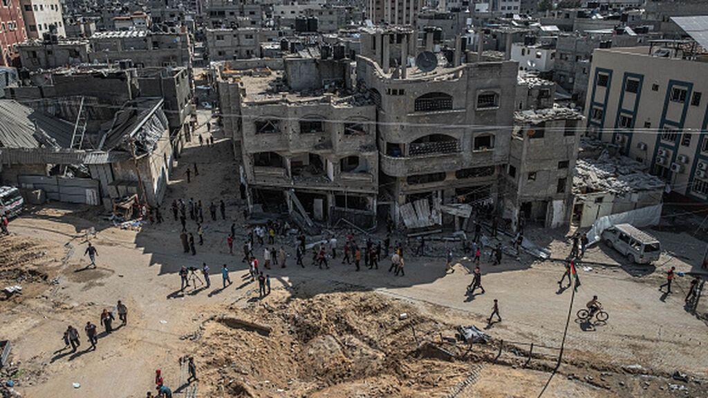 Israel estudia un alto el fuego en Gaza, mientras continúan los ataques con cohetes, según Haaretz