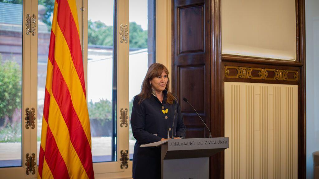 Laura Borrás no irá a ver al Rey para comunicarle la investidura de Aragonès