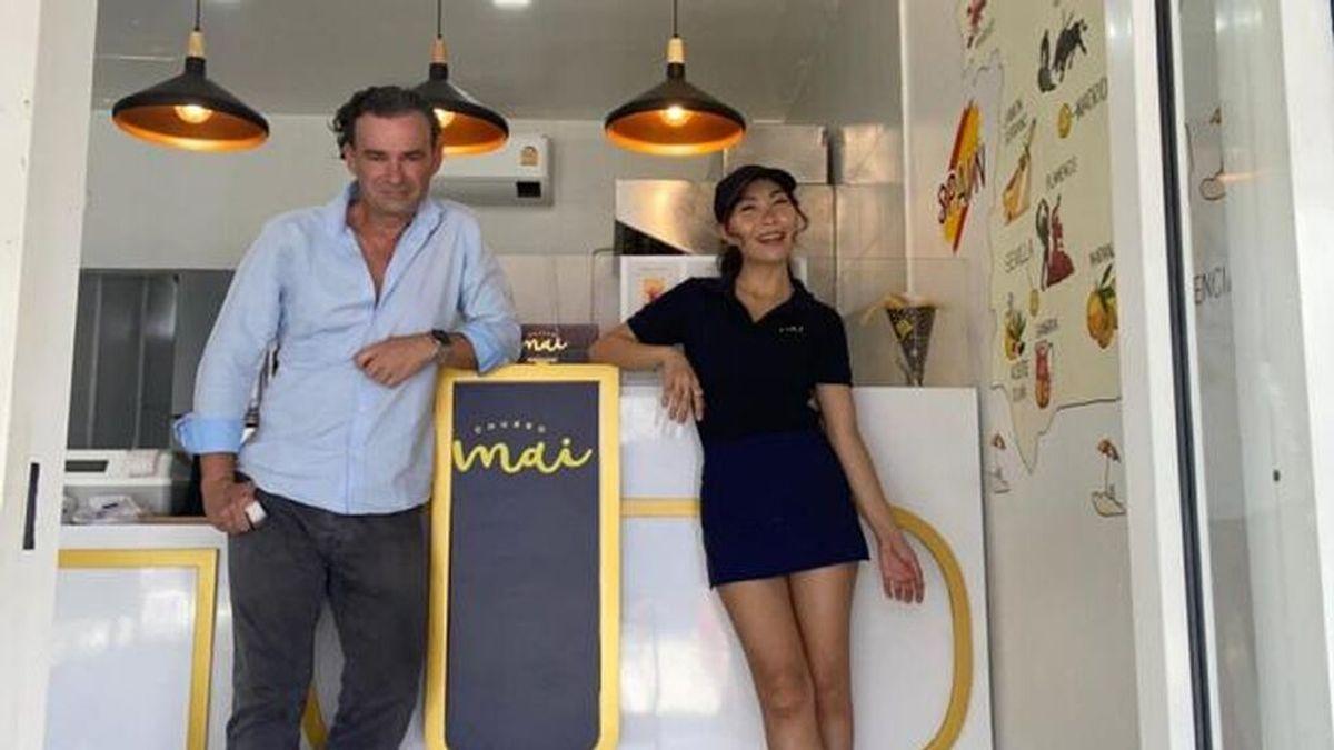 Ya podemos comer churros en Tailandia gracias a Javier Arce el español que ha abierto Churro Mai.