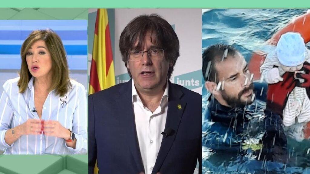 """Ana Rosa estalla contra Puigdemont: """"Es un ignorante y peligroso"""""""