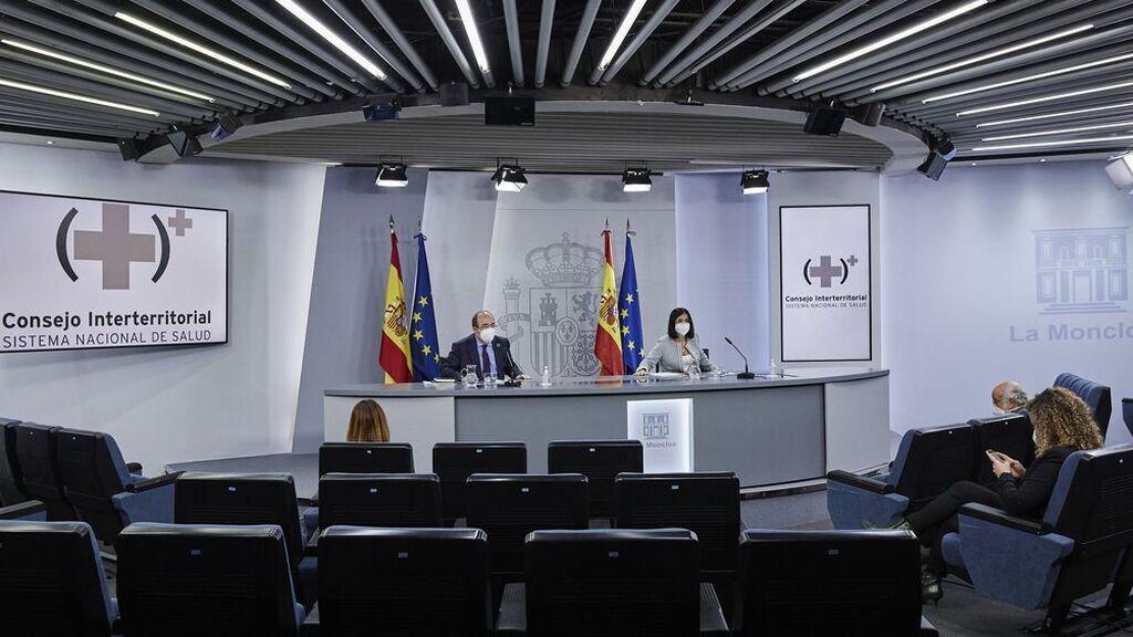 En directo: rueda de prensa tras el Consejo Interterritorial de Salud