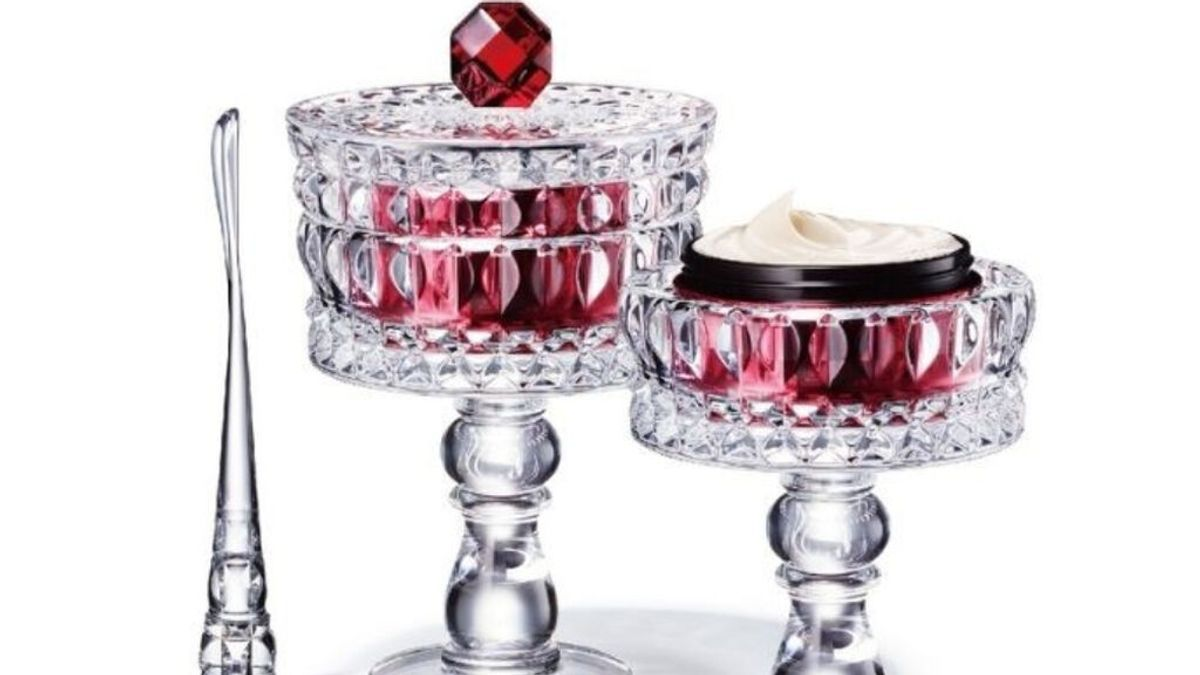 Decorté, Marcel Wanders y Baccarat se alían para crear la crema 'antiedad' más lujosa por 4.800 euros