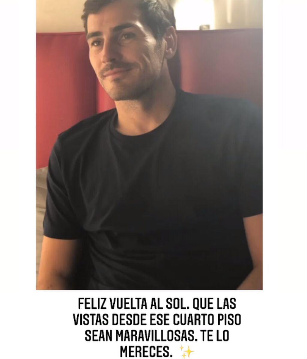 La felicitación de Sara Carbonero a Iker Casillas por su cumpleaños