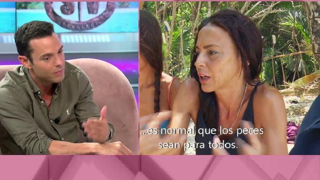 Antonio Rossi reacciona a las palabras de Olga Moreno