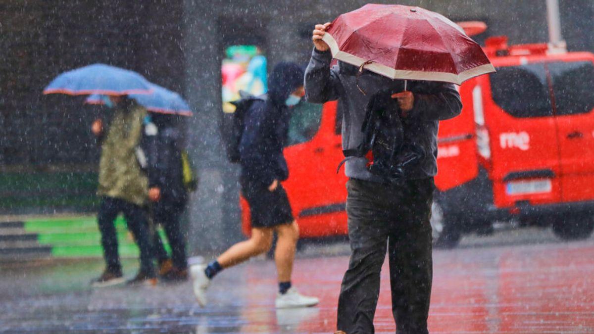 Llega una nueva DANA este fin de semana a España con lluvias y bajada de temperaturas
