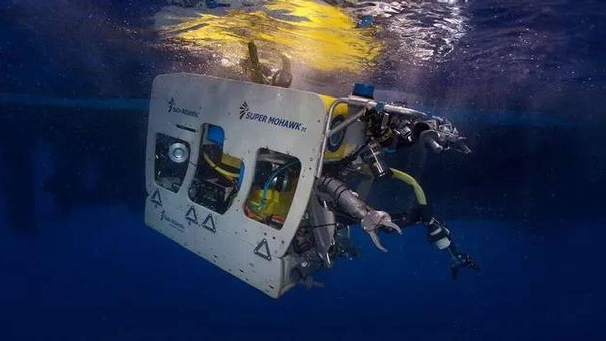 Un robot submarino buscará a partir del lunes a las niñas desaparecidas en Tenerife