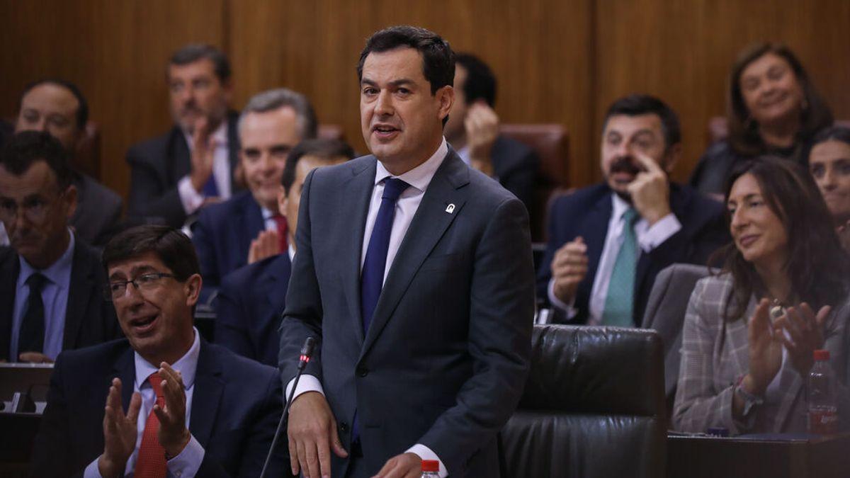 Vox retira su apoyo al Gobierno de Andalucía por acoger a 13 menas de Ceuta... otra vez
