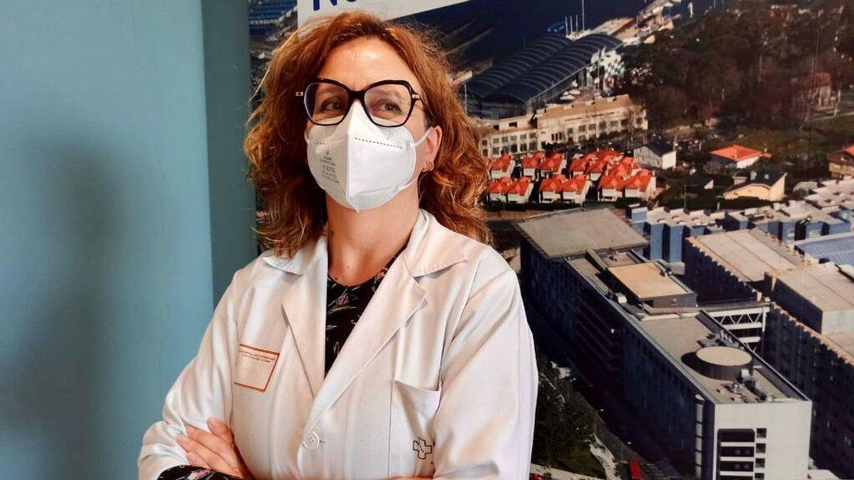 Mª José Pereira, jefa de Medicina Preventiva del Chuac: