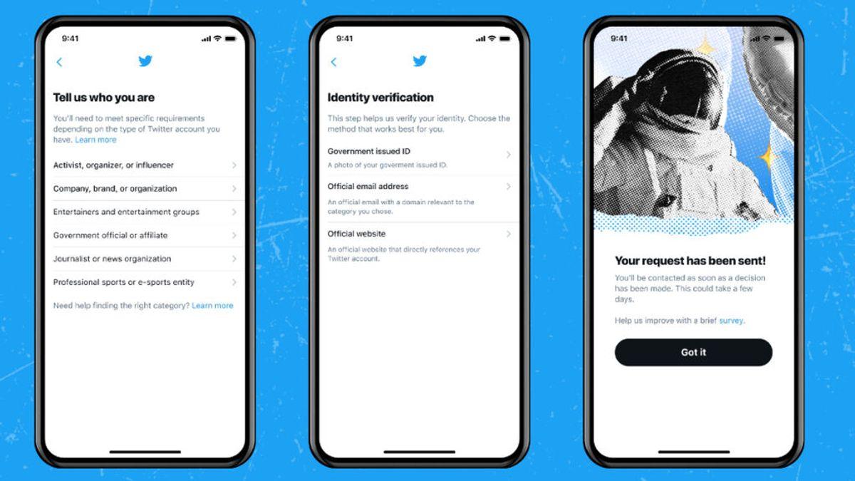 Twitter retoma el proceso de verificación de la insignia azul a las cuentas