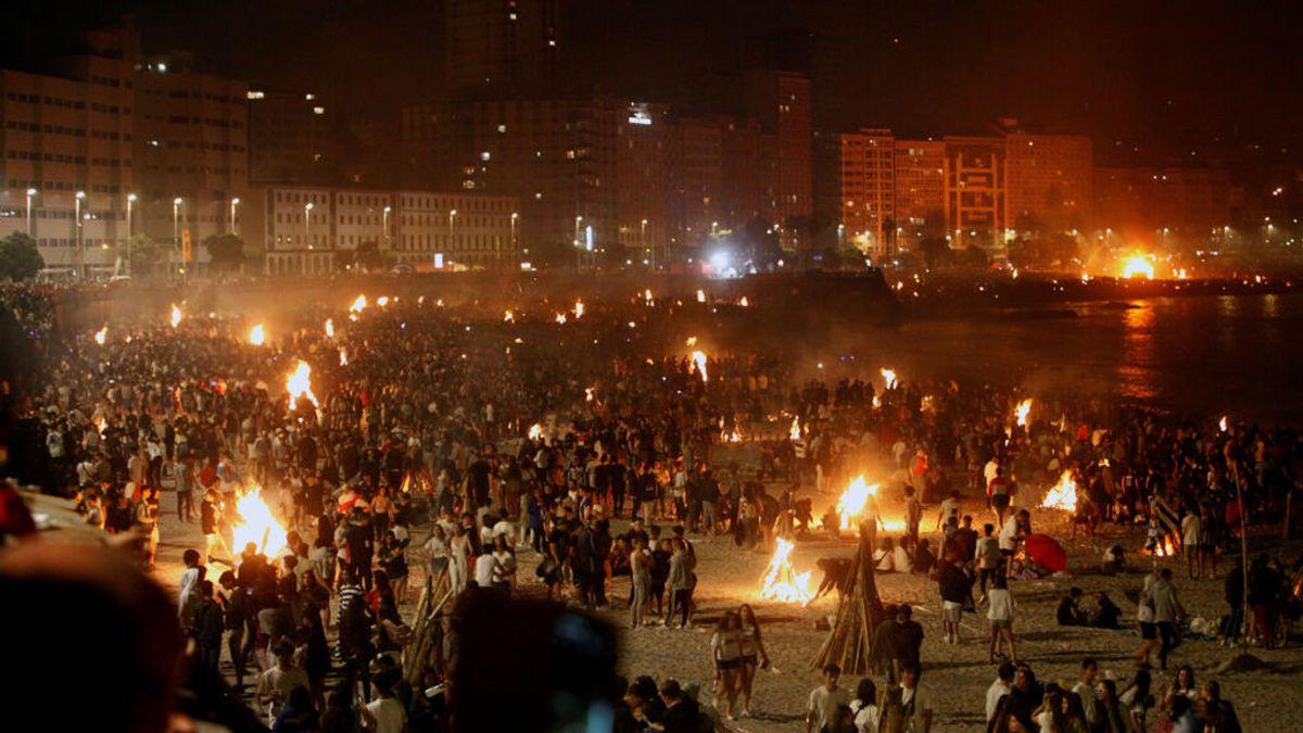 A Coruña supende, por segundo año consecutivo, las hogueras de San Juan en sus playas