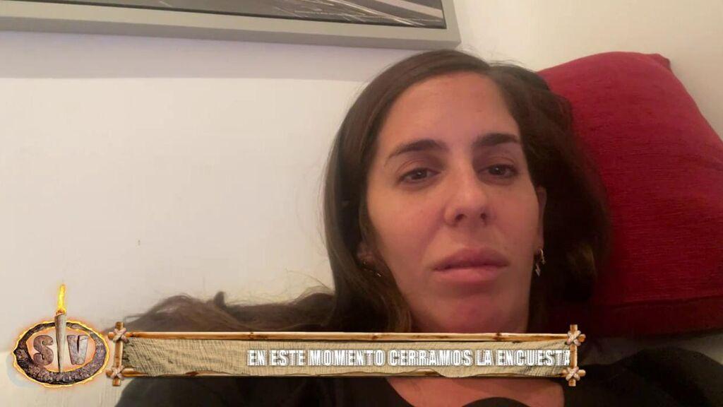 Anabel Pantoja es pillada... ¡durmiéndose durante el directo de 'Supervivientes'!
