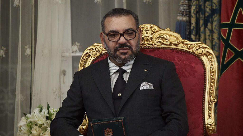Mohamed VI, rey de Marruecos...