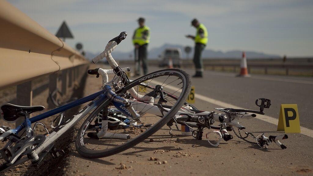 ciclistas atropello