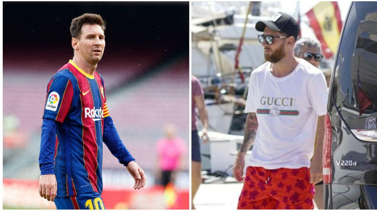 Messi, sin objetivos: Sin poder ganar la Liga, ni la Bota de Oro, se va de vacaciones