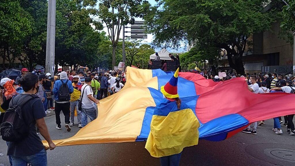 El Comité del Paro Nacional anuncia nuevas protestas pese al diálogo con el Gobierno colombiano
