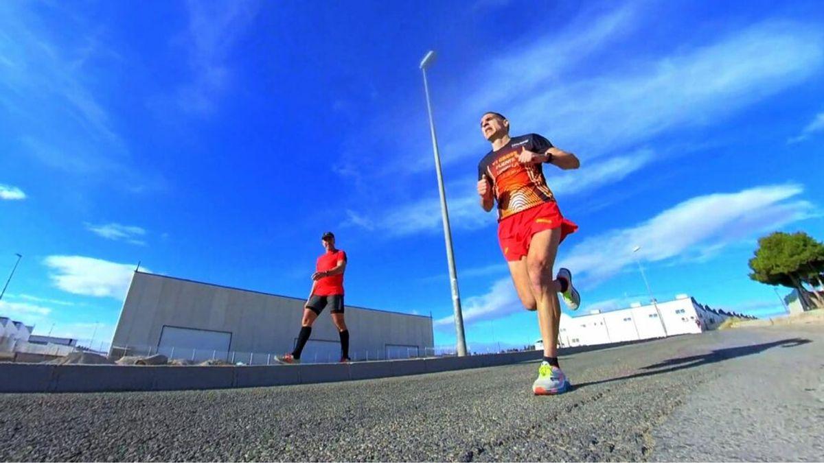52 maratones en 52 semanas, el reto solidario de un murciano para recaudar alimentos