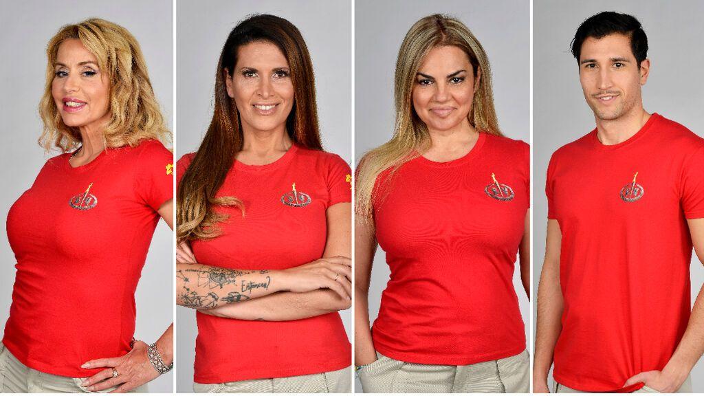 Valeria Marini, Lara Sajen, Sylvia Pantoja y Gianmarco Onestini, nominados de 'Supervivientes 2021'