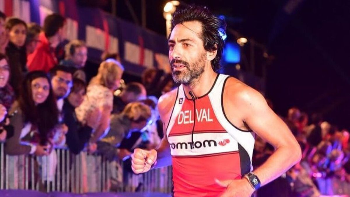 """Juan del Val recuerda que una vez fue todo un Ironman y tiene ganas de volver: """"Mi objetivo es retomarlo"""""""