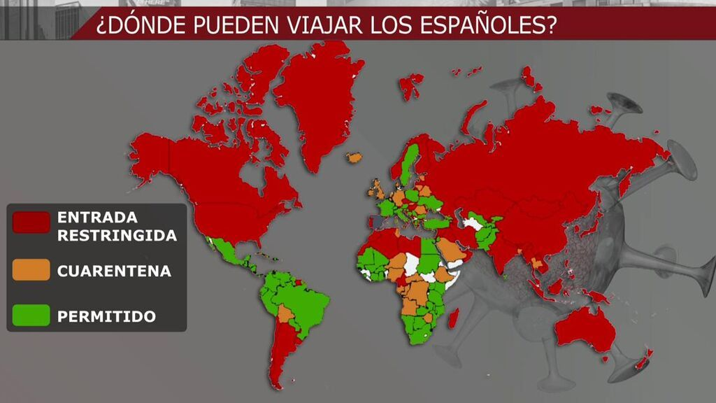 Qué países no permiten la entrada de extranjeros en verano