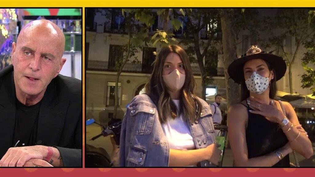 """Carla Barber habla de su ruptura con Diego bajo la atenta mirada de Laura Matamoros: """"Es estupendo"""""""