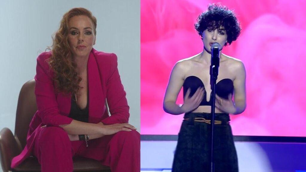 El festival de Eurovisión 2021 está marcado por el relato de Rocío Carrasco