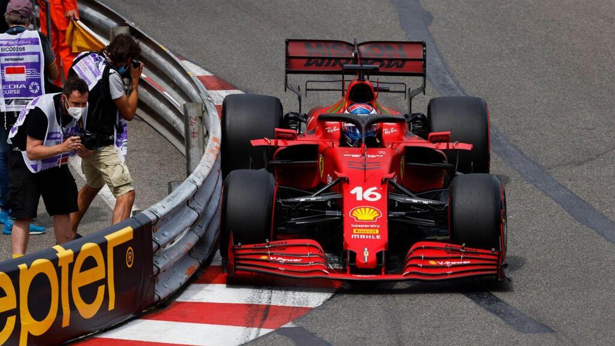 Leclerc se hace con la pole en Mónaco y Sainz 'vuela' para salir cuarto: Alonso de hunde al decimoséptimo puesto