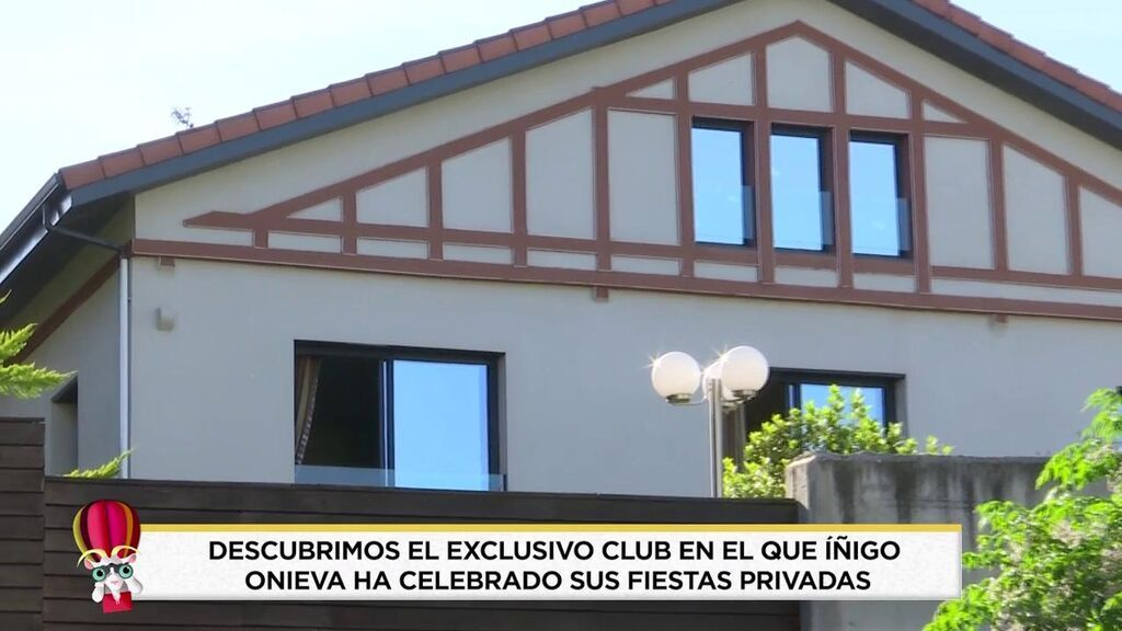 La mansión donde Íñigo Onieva celebra fiestas ilegales