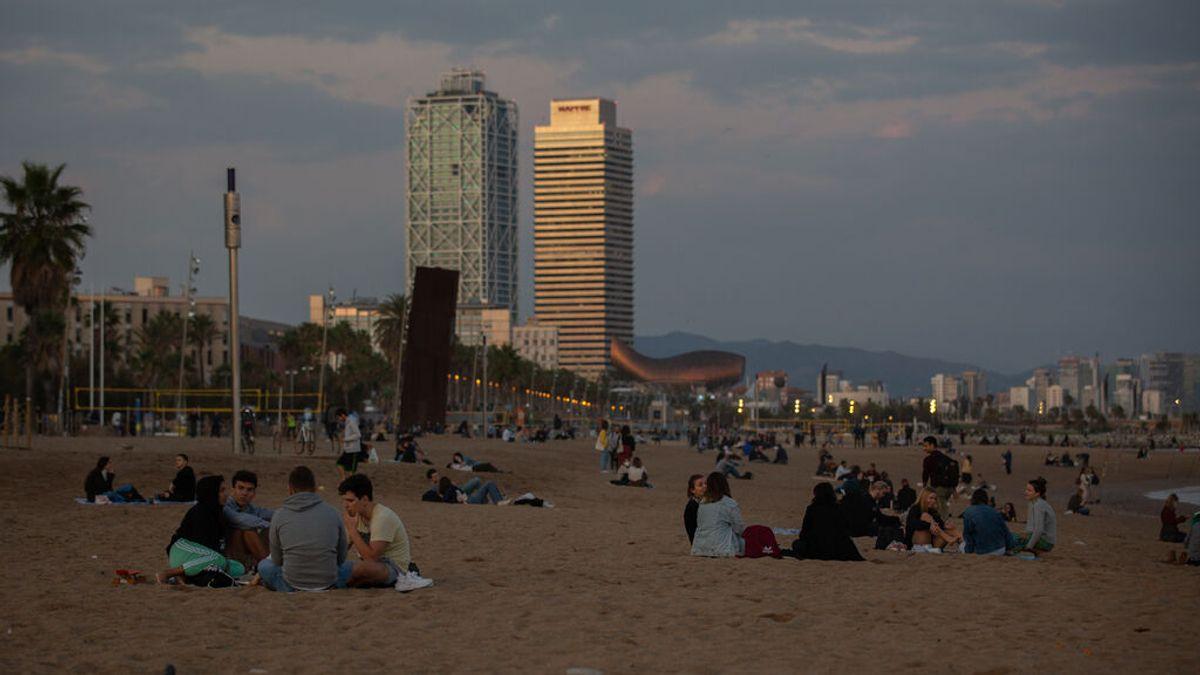 Cataluña reduce más del 50 % sus muertes por covid en tres semanas