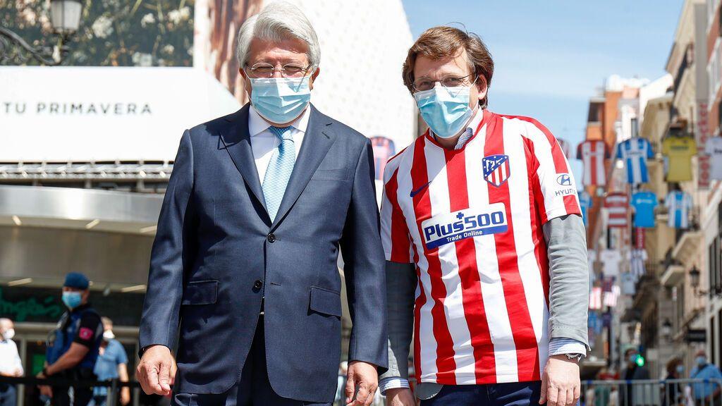 El alcalde de Madrid pide a los atléticos que no vayan a Neptuno