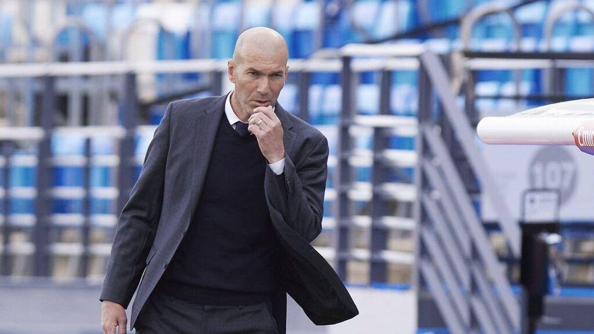 """Zidane no da pistas sobre su futuro: """"Hablaré con el club y veremos qué pasa en los próximos días"""""""